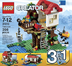 lego creator treehouse interlocking building sets