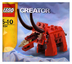 lego creator bagged triceratops dinosaur polybagged
