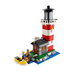 lego creator lighthouse island harbor safe