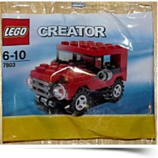 Buy Now Creator Mini Figure Set 7803 Red Jeep