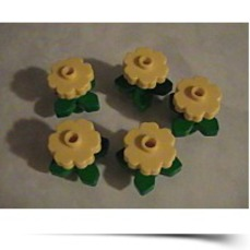 Buy Now Creator Yellow Flowers With Green Leaves