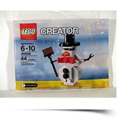 Snowman Mini Figure Bagged Set