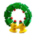 lego creator mini figure christmas wreath