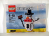 lego creator snowman mini figure bagged