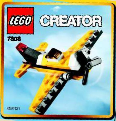 Creator Mini Figure Set 7808 Yellow