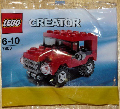 Creator Mini Figure Set 7803 Red Jeep