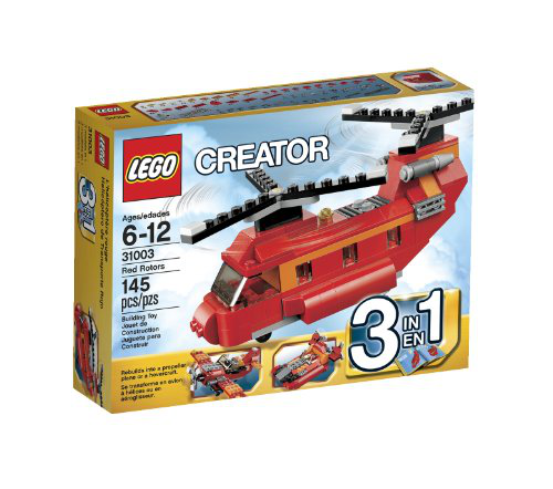 Creator Red Rotors 31003